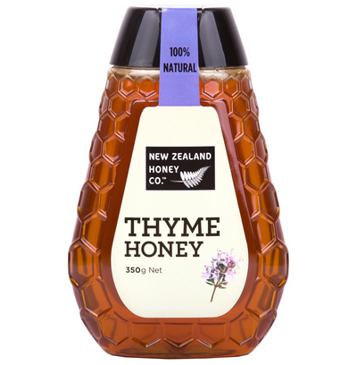 Jar of Thyme Honey 350g from New Zealand Honey Co