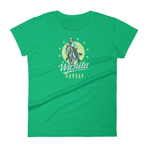 Wichita, Kansas Women's Short Sleeve T-shirt