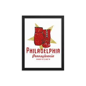 Philadelphia, Pennsylvania Framed Poster