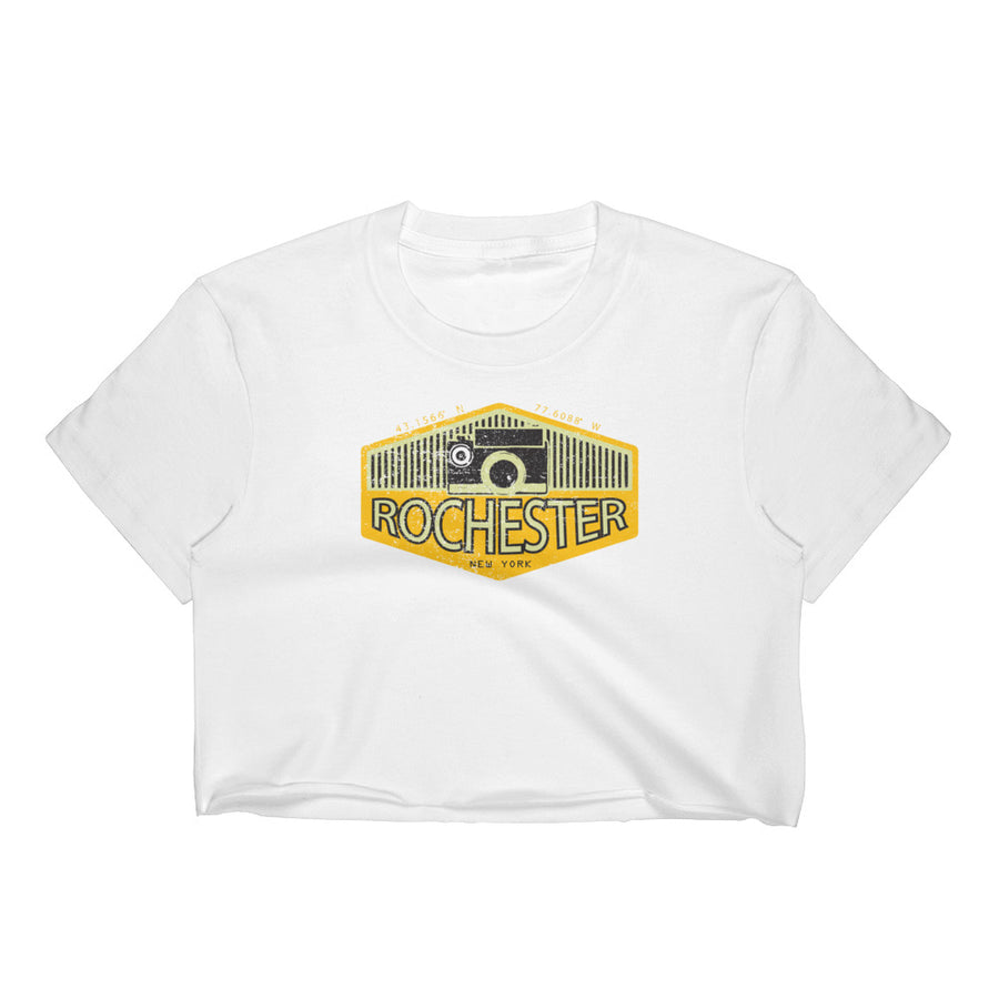 Rochester, New York Women's Crop Top
