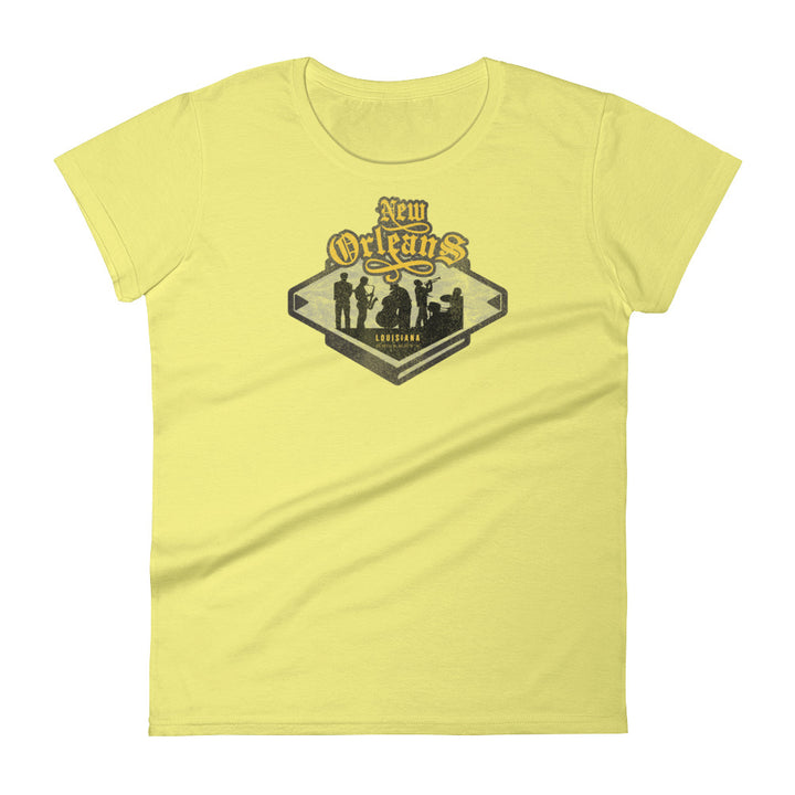 New Orleans, Louisiana Women's Short Sleeve T-shirt
