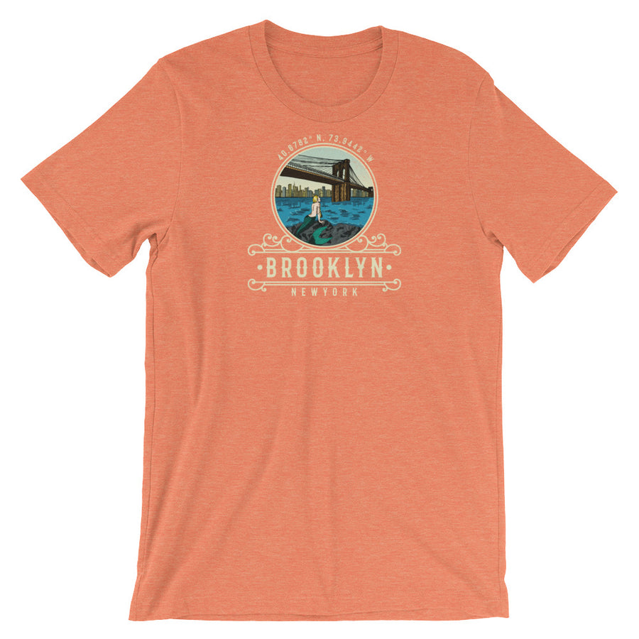 Brooklyn, New York Short-Sleeve Unisex T-Shirt
