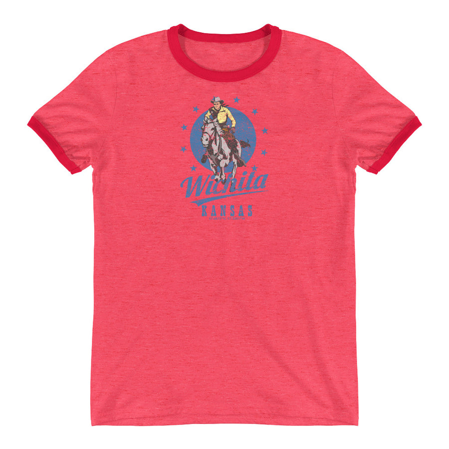 Wichita, Kansas Ringer T-Shirt