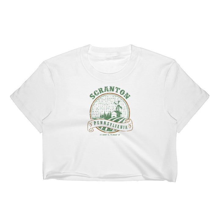 Scranton, Pennsylvania Women's Crop Top