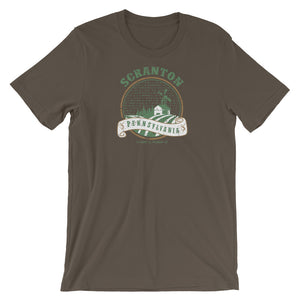 Scranton, Pennsylvania  Short-Sleeve Unisex T-Shirt