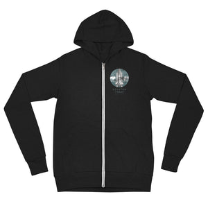 Houston, Texas Unisex Zip Hoodie