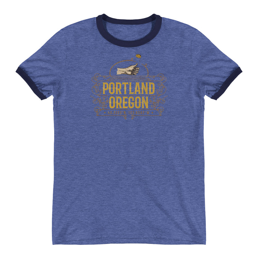 Portland, Oregon Ringer T-Shirt
