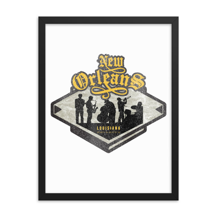 New Orleans, Louisiana Framed Poster