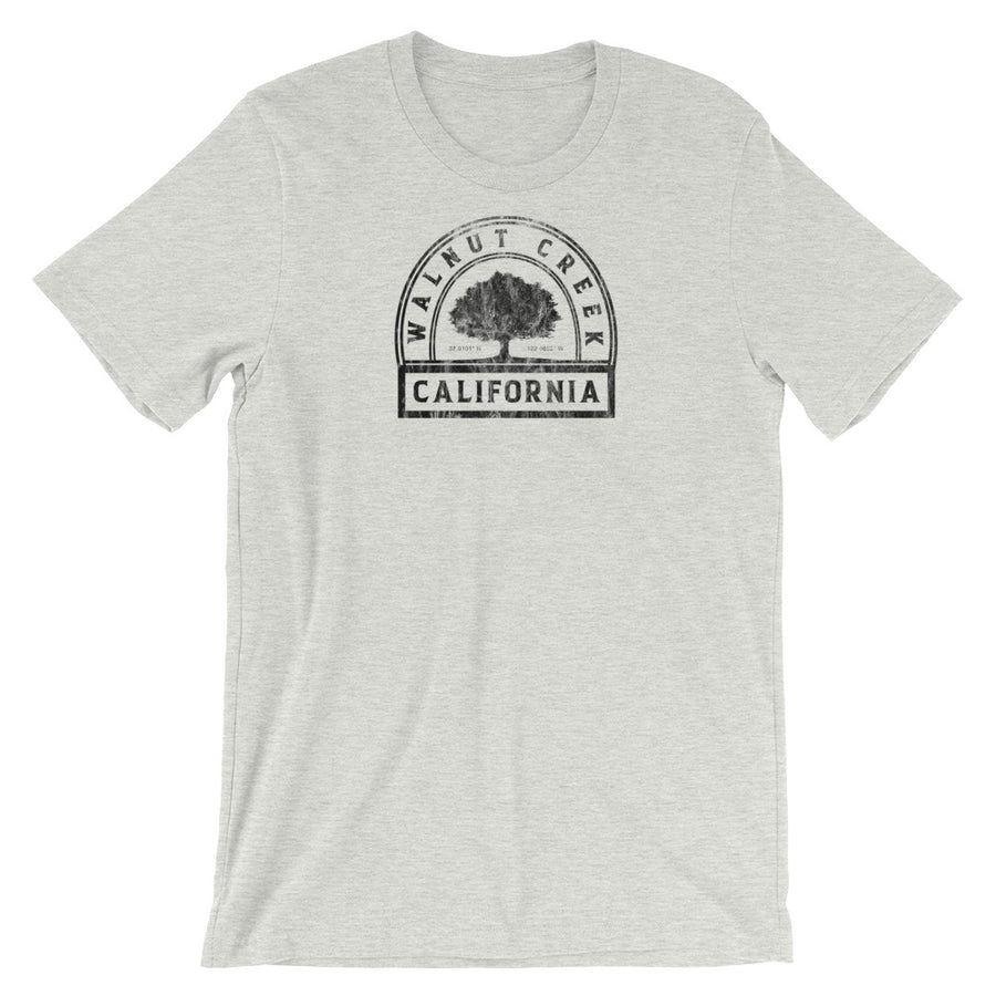 Walnut Creek, California Short-Sleeve Unisex T-Shirt