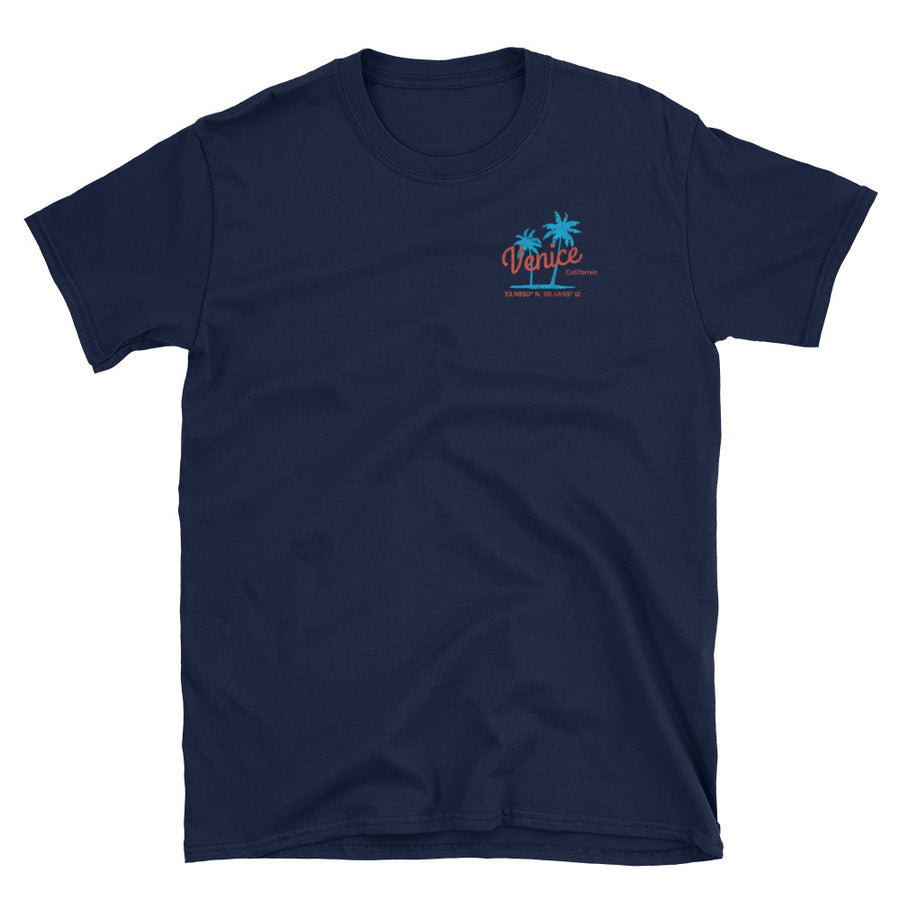 Venice California Short-Sleeve Unisex T-Shirt