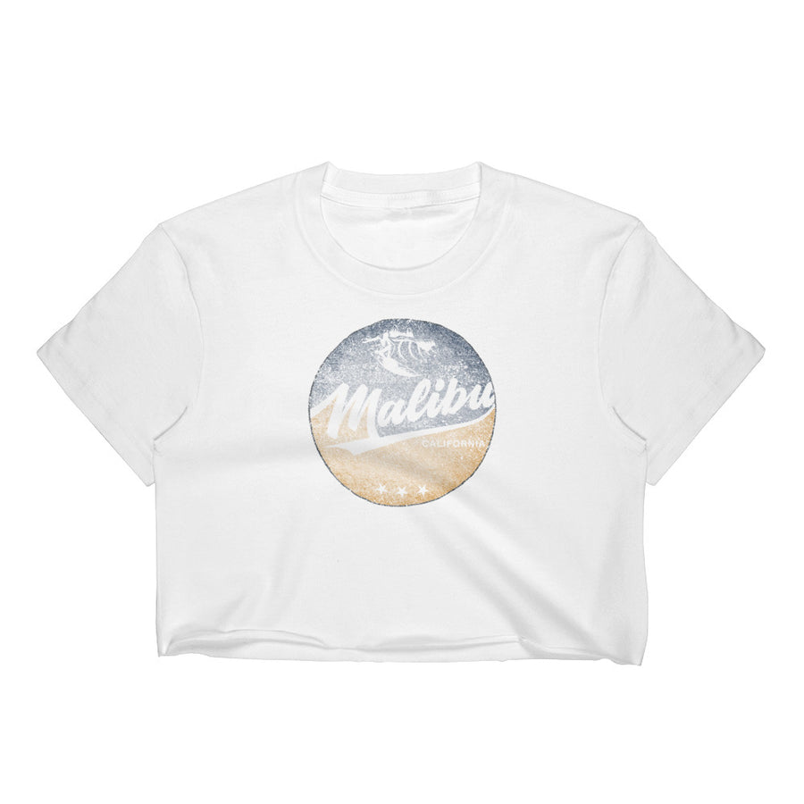 Malibu, California Women's Crop Top