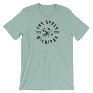Ann Arbor, Michigan Short-Sleeve Unisex T-Shirt