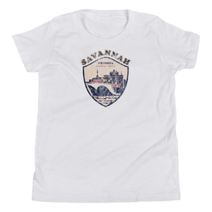 Savannah, Georgia Youth Short Sleeve T-Shirt