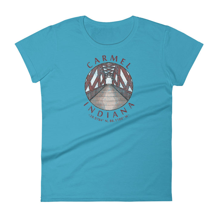 Carmel, Indiana Women's Short Sleeve T-shirt