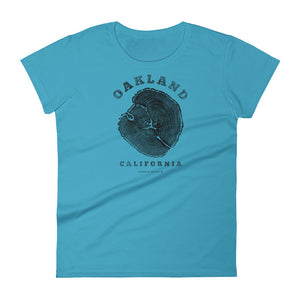 Oakland, California Women's Short Sleeve T-shirt