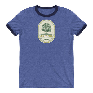 Fresno, California Ringer T-Shirt