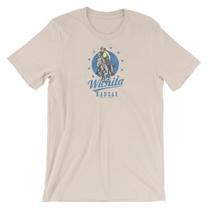 Wichita, Kansas Short-Sleeve Unisex T-Shirt