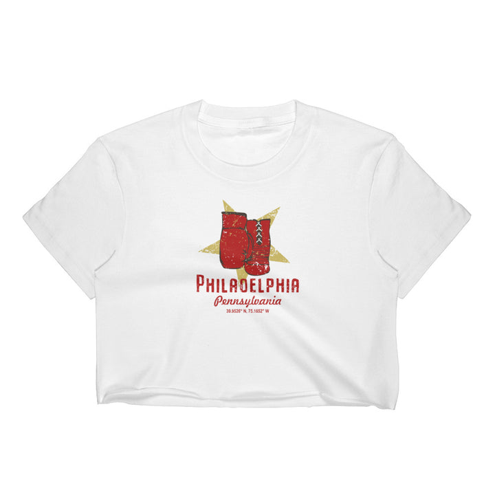 Philadelphia, Pennsylvania Women's Crop Top