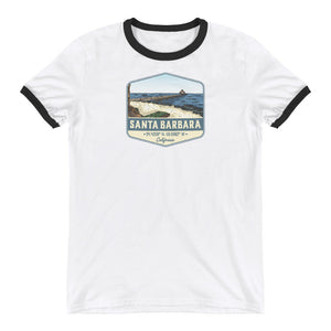 Santa Barbara, California Ringer T-Shirt