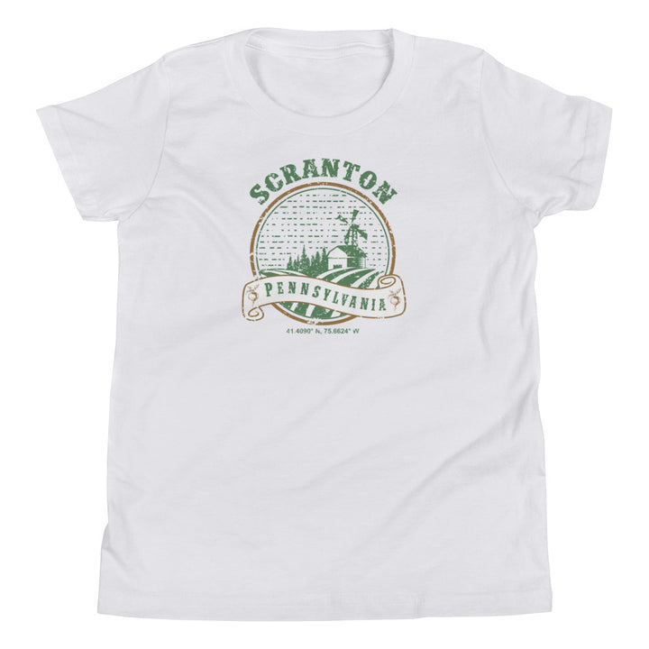 Scranton, Pennsylvania Youth Short Sleeve T-Shirt
