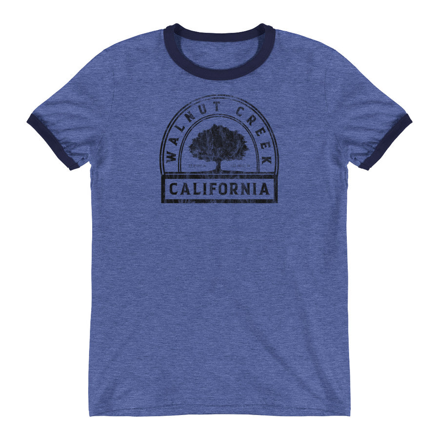 Walnut Creek, California Ringer T-Shirt
