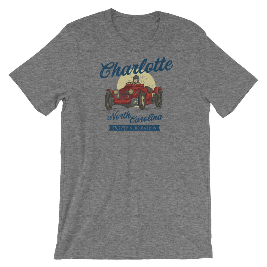 Charlotte, North Carolina Short-Sleeve Unisex T-Shirt