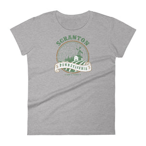 Scranton, Pennsylvania  Women's Short Sleeve T-shirt