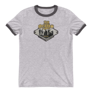 New Orleans, Louisiana Ringer T-Shirt