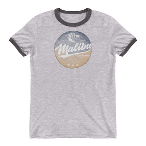 Malibu, California Ringer T-Shirt
