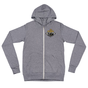 New Orleans, Louisiana Unisex Zip Hoodie