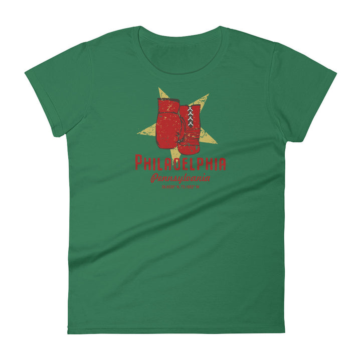 Philadelphia, Pennsylvania Women's Short Sleeve T-shirt