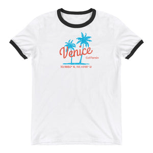 Venice California Ringer T-Shirt