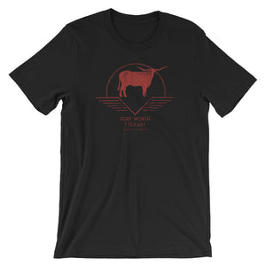 Fort Worth, Texas Short-Sleeve Unisex T-Shirt