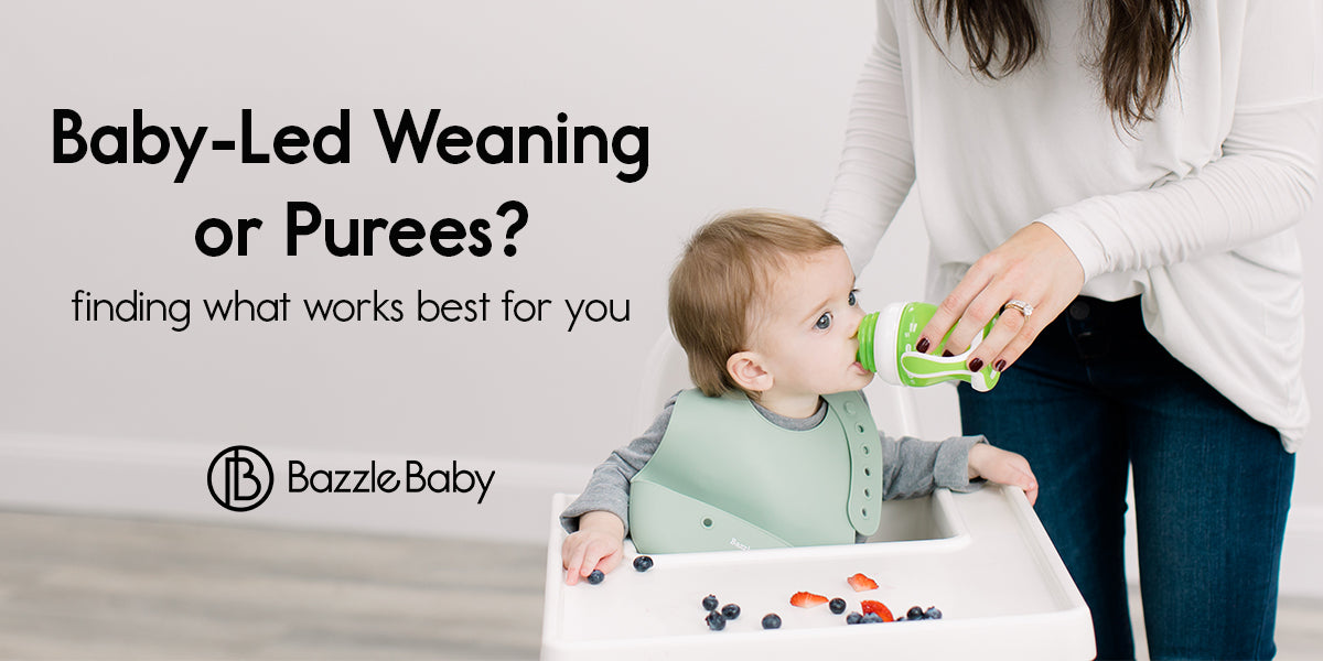 Baby-Led Weaning or Purees?