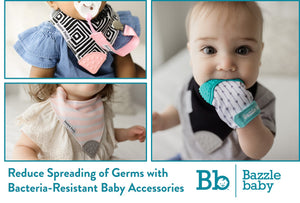 Bacteria-Resistant Baby Accessories to Reduce Spreading of Germs