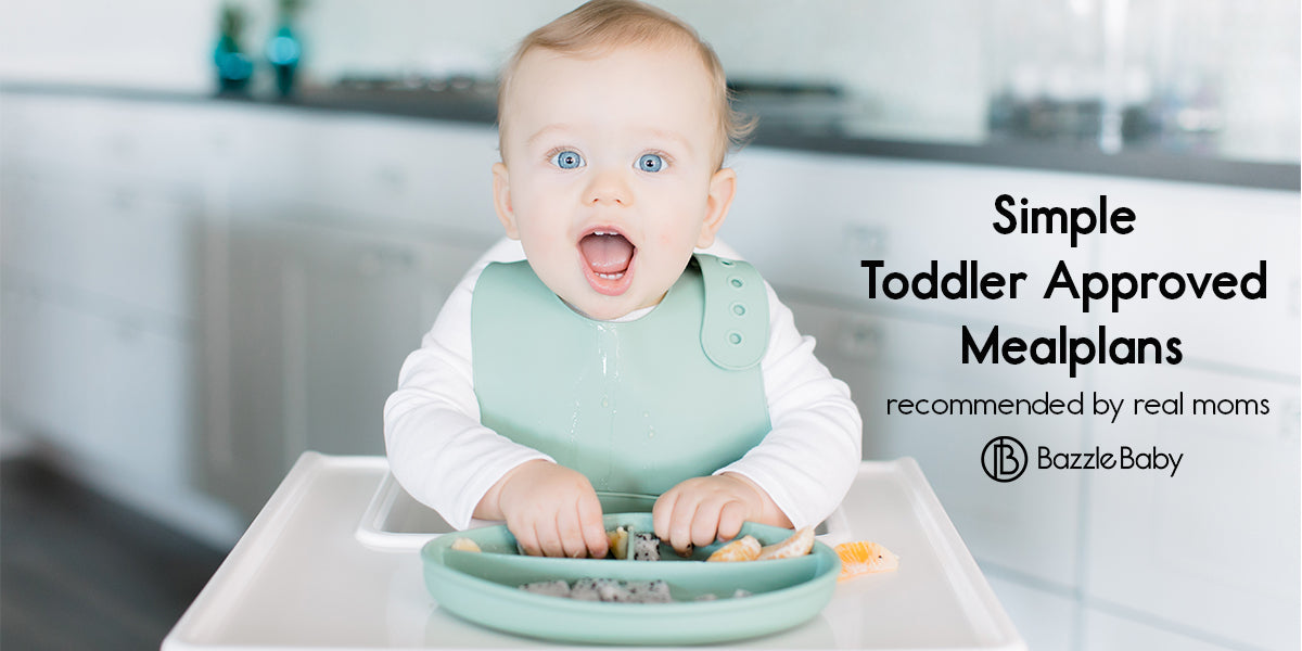 Simple Toddler Approved Meal Plans