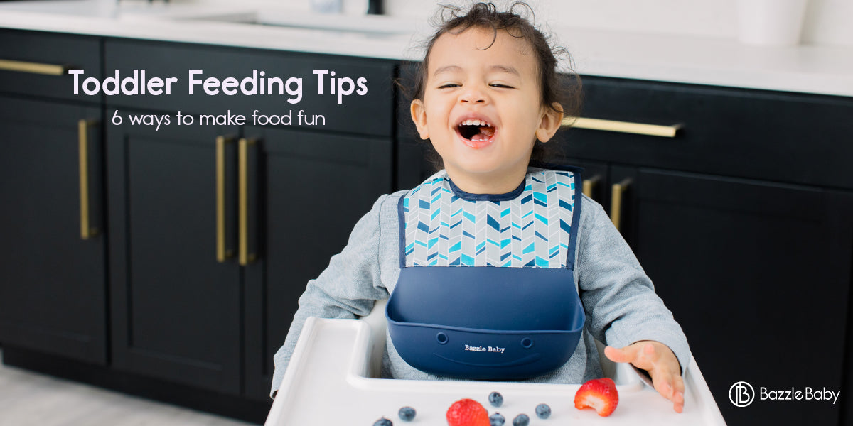 Toddler Feeding Tips Silicone Feeding Bib Toddler Bib