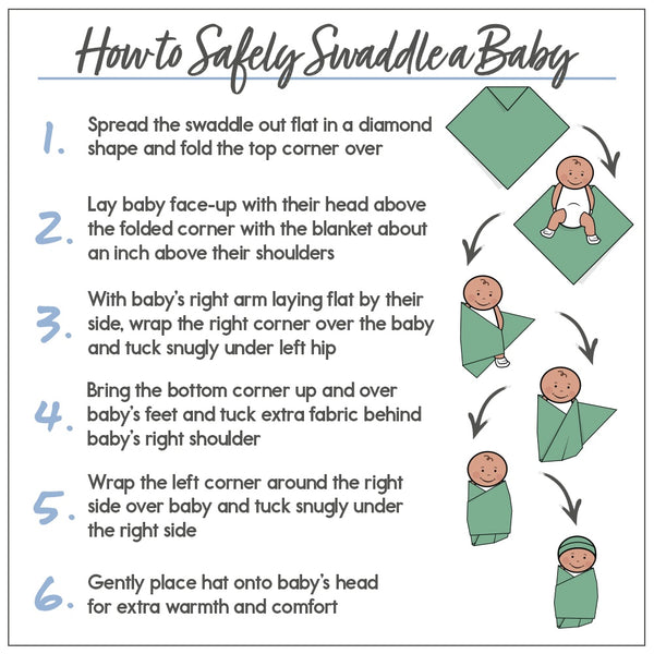 how to swaddle your bazzle baby swaddle