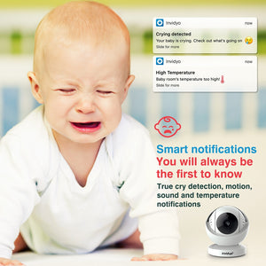 invidyo, the world's smartest video baby monitor and nanny cam.