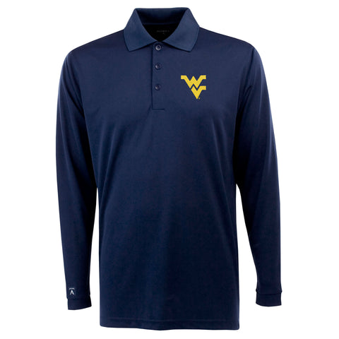 ANTIGUA NAVY EXCEED LONG SLEEVE POLO