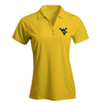 ANTIGUA WOMEN'S GOLD TRIBUTE POLO