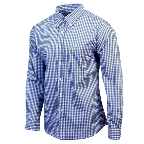 ANTIGUA STRUCTURE LONG SLEEVE BUTTON UP SHIRT