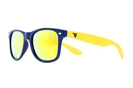 WV GOLD AND BLUE SUNGLASSES