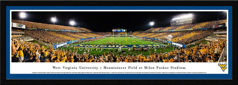 WVU Mountaineers Football Panoramic Picture - WVU4