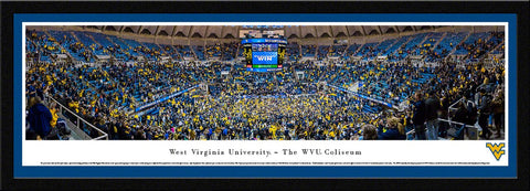 WVU Mountaineers Basketball Panoramic Picture - WVU5