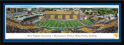 West Virginia Mountaineers Football Panoramic Picture - WVU7
