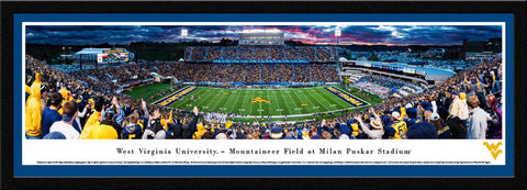 West Virginia Mountaineers Panorama - WVU6