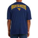 WEST VIRGINIA ULLMAN S/S TEE 3XL BIG&TALL