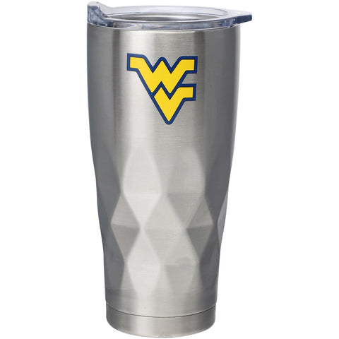 WV DIAMOND BOTTOM STAINLESS TUMBLER-22oz