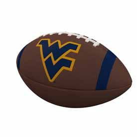 WEST VIRGINIA OFFICIAL-SIZE TEAM STRIPE FOOTBALL